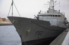 Ireland has just sent its second ship to the Mediterranean