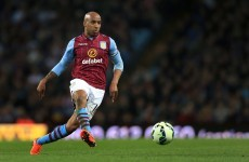 Despite much media speculation, Fabian Delph reveals he's staying at Aston Villa