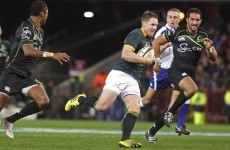 Jean de Villiers receives standing ovation as Springboks cruise to win over World XV