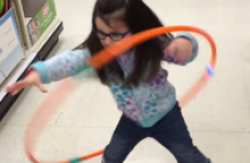 This little girl's adorable Hula Hoop fail is 12 seconds of pure joy