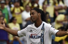 Ronaldinho's search for a new club is over