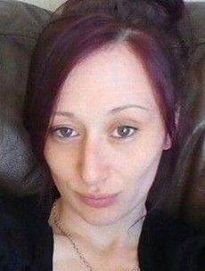 The woman who was left in a wrecked car for three days has died
