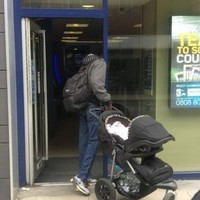Man sought after trying to sell baby in a shopping arcade