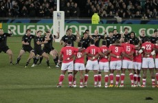 As it happened: All Blacks v Tonga
