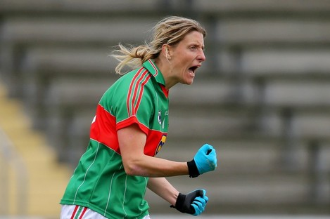 Cora Staunton was in brilliant form at the weekend.