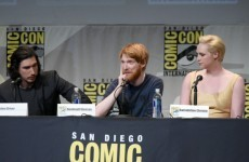 Here's why Domhnall Gleeson called himself 'British' at Comic Con