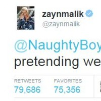 Here's why Zayn Malik called Naughty Boy a 'fat joke' on Twitter today