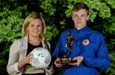 One of the League of Ireland's brightest prospects named player of the month