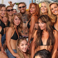 Conor McGregor partied like a champ after winning the UFC interim belt