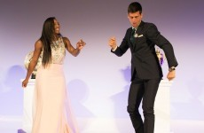 Djokovic dances to Serena's tune at champions' dinner