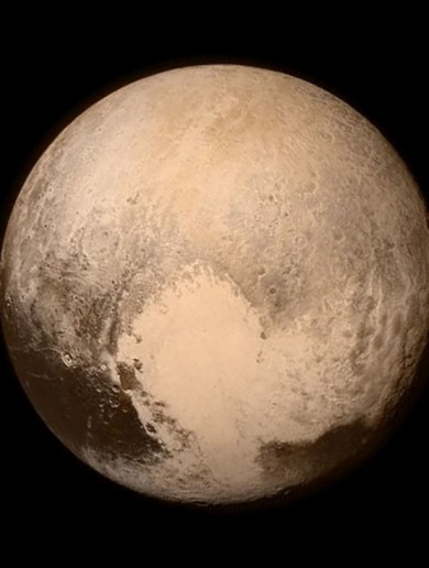 Take a look at Pluto as you've never seen it