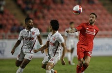 Henderson's rabona assist the highlight of Liverpool's pre-season win in Thailand