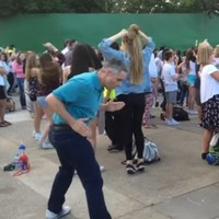 The greatest example of Dad dancing ever has been discovered at this festival