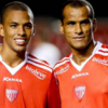 World Cup winner Rivaldo and his 20-year-old son both score in the same game