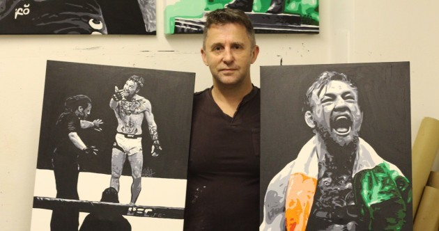 This artist's paintings of Conor McGregor have gone viral