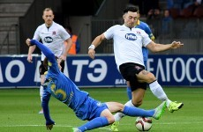 Dundalk's Champions League hopes in the balance after closely fought first leg
