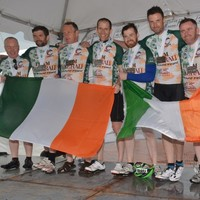 The Irish team who battled heat stroke and sleep deprivation to ride across America