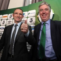 John Delaney: Martin O'Neill to Leicester was 'never going to happen'