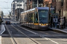 The northside Luas is back up and running...