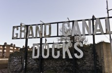 How the Grand Canal Docks pranksters changed the iconic sign to something very rude