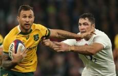 Quade Cooper backs out of big money Toulon move to boost Australia's 7s bid - report
