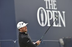 Graeme McDowell has started the third round of the Open with four birdies