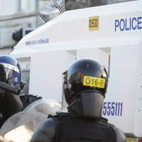 Petrol bombs and bricks thrown at police who were lured to scene
