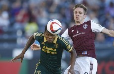 Kevin Doyle found the net Stateside last night and it was a sweet match winner