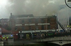 Dublin firefighters bring city centre blaze under control