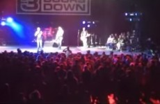 This band stopped a gig to boot out a man in the audience who shoved a woman