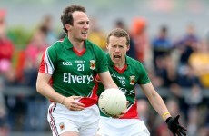 Alan Dillon and Andy Moran created a slice of history in their Mayo careers yesterday
