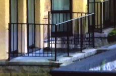 'That's a tough lie': Phil Mickelson just landed a horrible tee shot on this 1st floor balcony