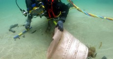 Guns from the Spanish Armada have just been found off the Irish coast