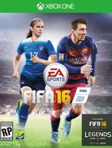 Women are on the Fifa 16 cover - and some people are losing their minds