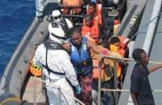 Mother and baby 'doing well' after childbirth aboard LÉ Niamh