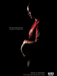 """A Dub footballer thinks that controversial TG4 pregnancy ad is a """"really good insight"""""""