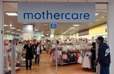 Mothercare Ireland has been placed in examinership