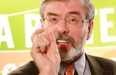 Adams wants Sinn Féin to support candidate for Áras