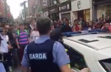 Four people arrested at a pro-choice abortion rally in Dublin