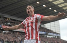 Ireland's Jon Walters scored a rather lovely goal for Stoke last night