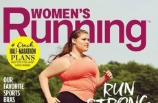 This running magazine put a plus-size model on its cover and it's winning so much praise