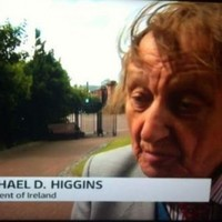 ITV News apparently don't know who Michael D Higgins is