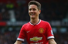 Ander Herrera is ready to fight for his place in Manchester United midfield