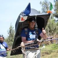 A Dublin man has climbed Mount Kilimanjaro (with a bathtub on his back)
