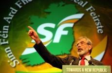 Adams says Sinn Féin looking at 'three or four' internal candidates for Áras