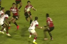 Japan lost to the USA last night, but this try was backline perfection