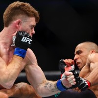 Edson Barboza's low blow on Paul Felder was not for the squeamish