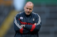 Doubts over Cuthbert's Cork managerial future after shock All-Ireland exit