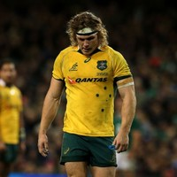 Michael Hooper could be in big trouble for throwing this punch in the win over Argentina