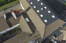 This lad caught kids climbing on a roof in Letterkenny, so he chased them with a drone